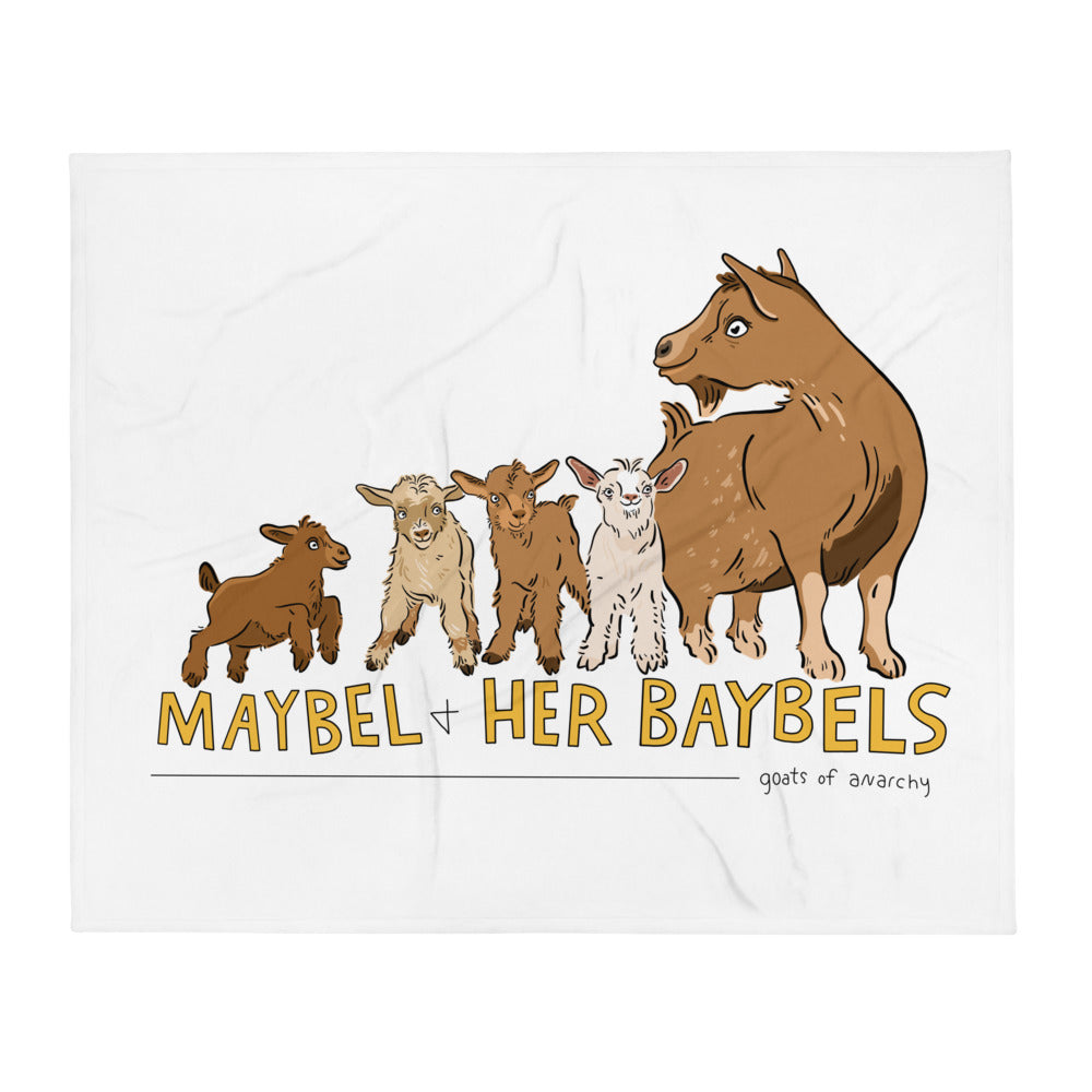 Maybel Alternate - Throw Blanket