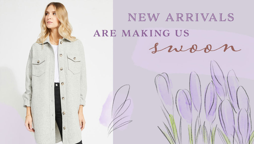 Hello March! We've never been so glad to see you ... And all your NEW arrivals