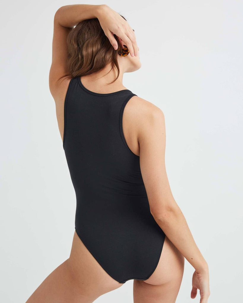RicherPoorer - Bodysuit - Black