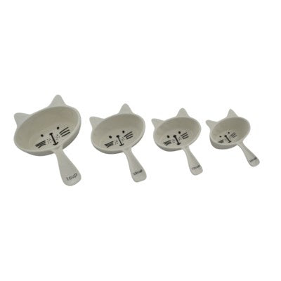 Ceramic Cat Measuring Cups