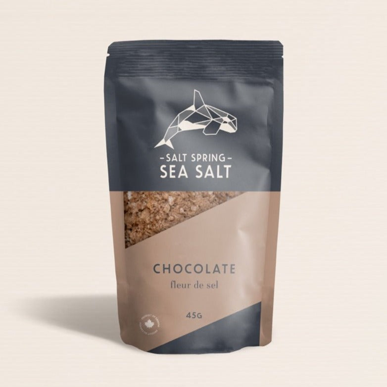 Salt Spring Sea Salt - Chocolate
