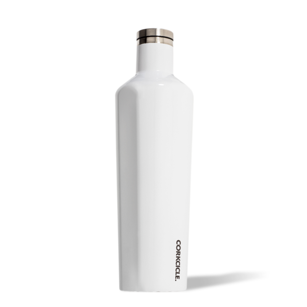 Corkcicle Canteen 25oz Gloss White at Twang and Pearl