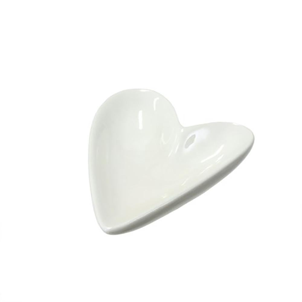 Porcelain Heart Dish Small at Twang and Pearl