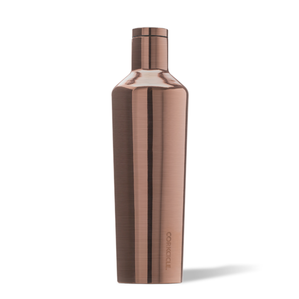 corkcicle canteen 25oz copper twang and pearl