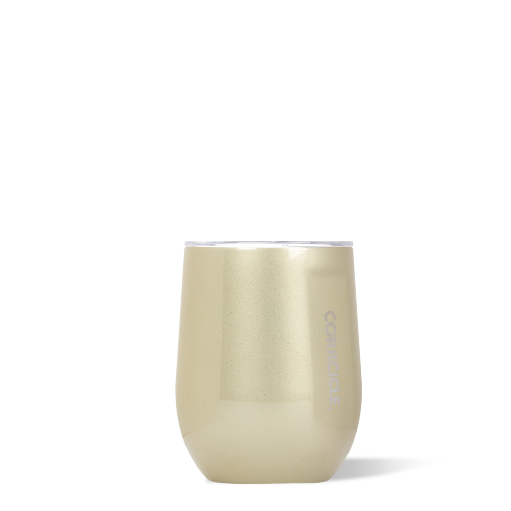 twang and pearl corkcicle stemless tumbler 12 oz glampagne