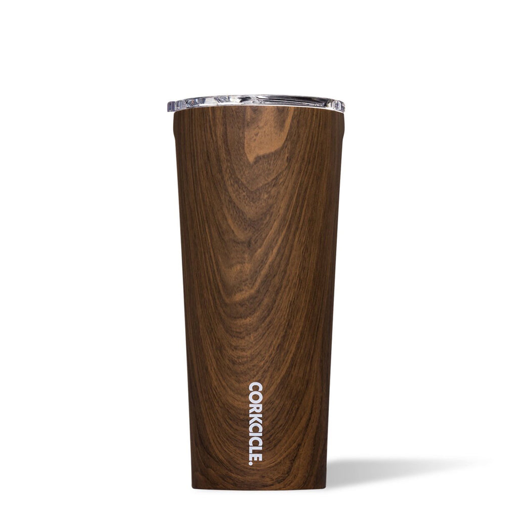 Corkcicle Tumbler 24oz Walnut at Twang and Pearl