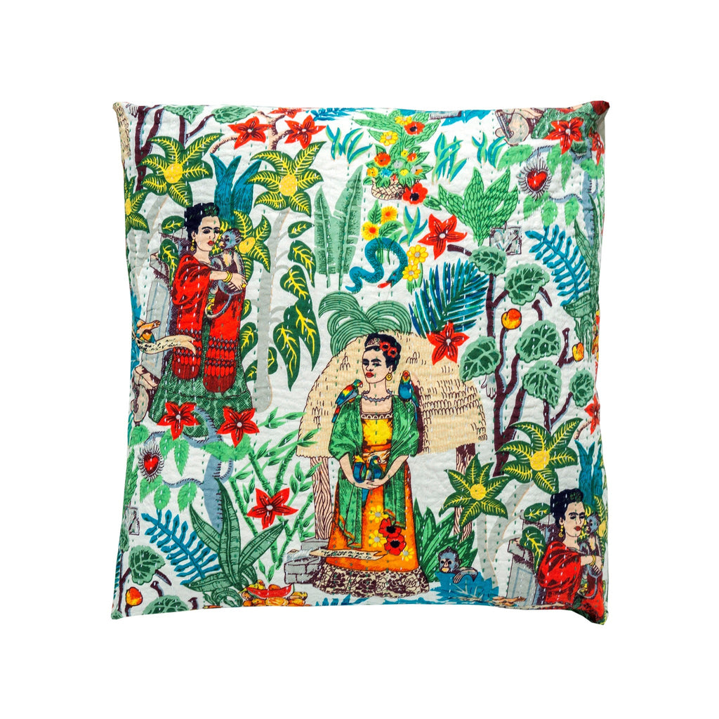 frida dreams cushion at twang and pearl