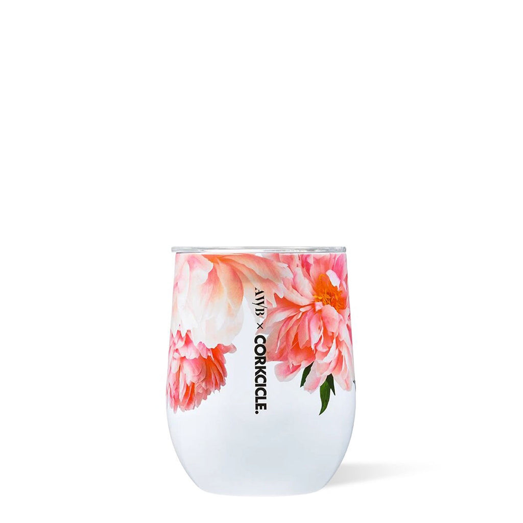 corkcicle stemless 12oz tumbler ashely woodson bailey ariella