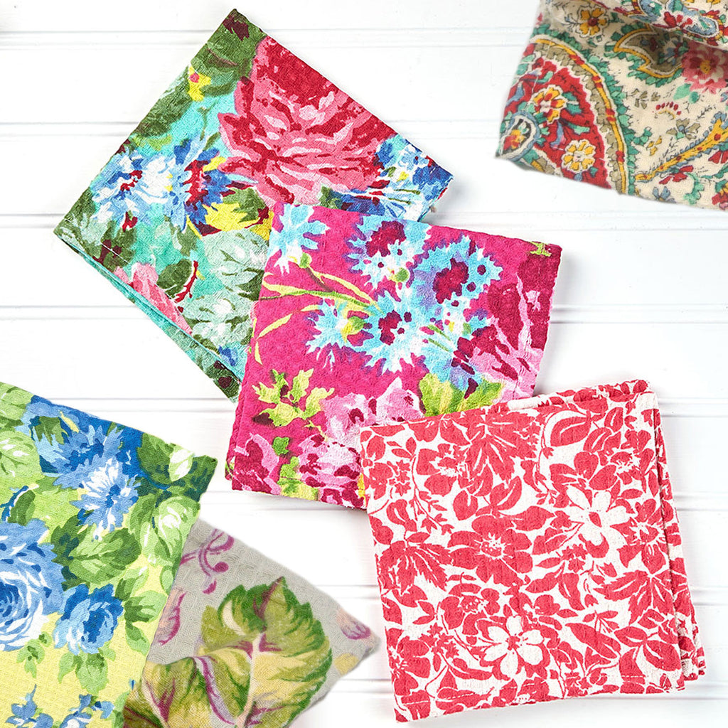 April Cornell Dish Cloths | Various Patterns, Designed in Canada