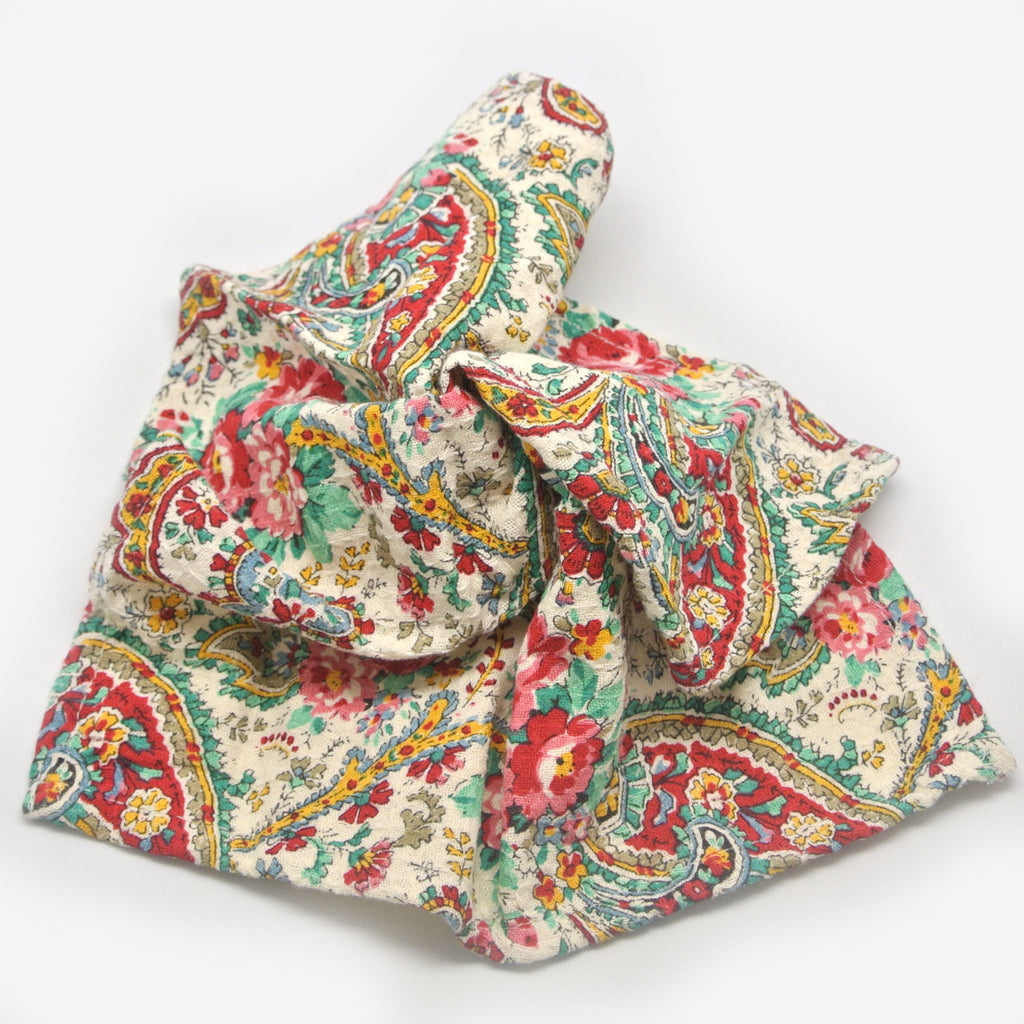 April Cornell Dish Cloths garden paisley multi at Twang and Pearl