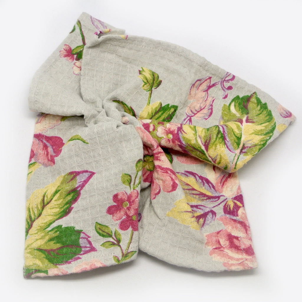April Cornell Dish Cloths rose grey at Twang and Pearl