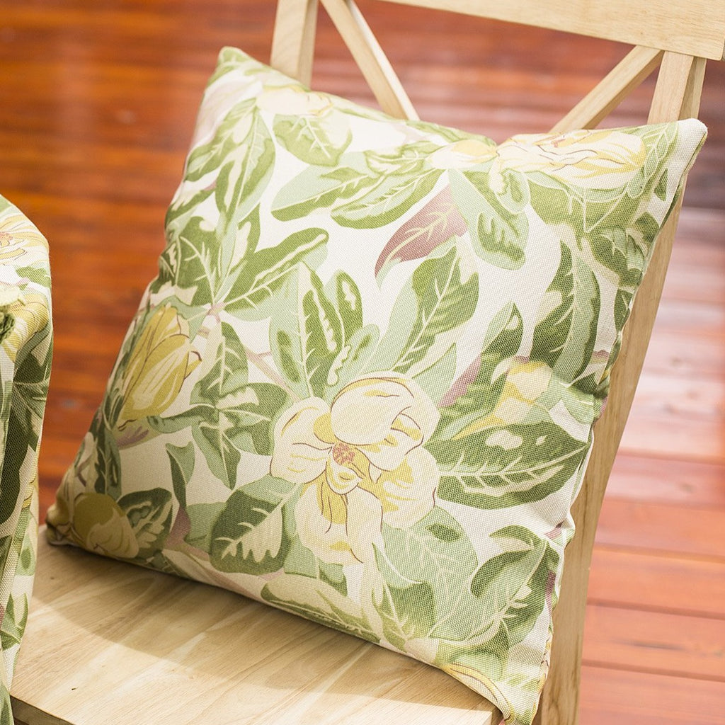 April Cornell Magnolia Outdoor Cushion with Filler Antique
