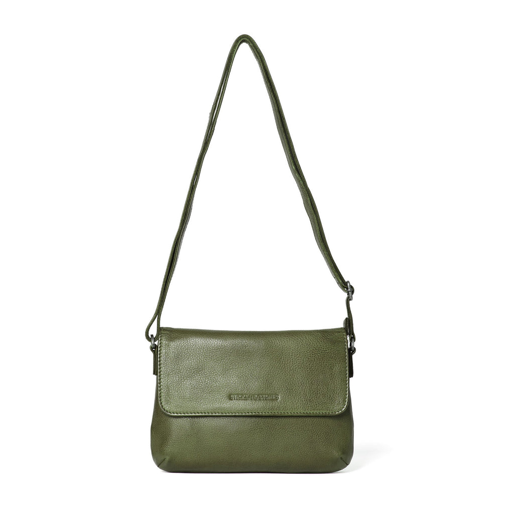 Sticks and Stones Athens Bag Dark Olive at Twang and Pearl