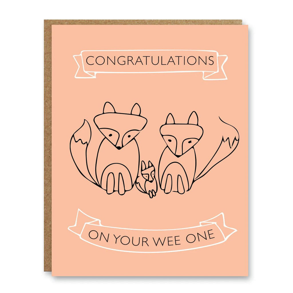 Boo To You - New Baby Card - Wee One