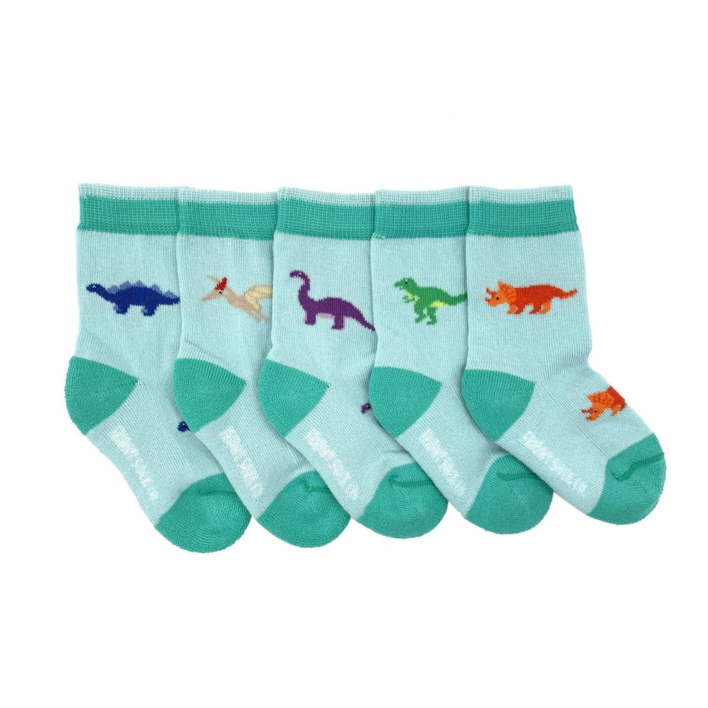 Friday Sock Co. - Baby Mismatched Socks - Dinosaur