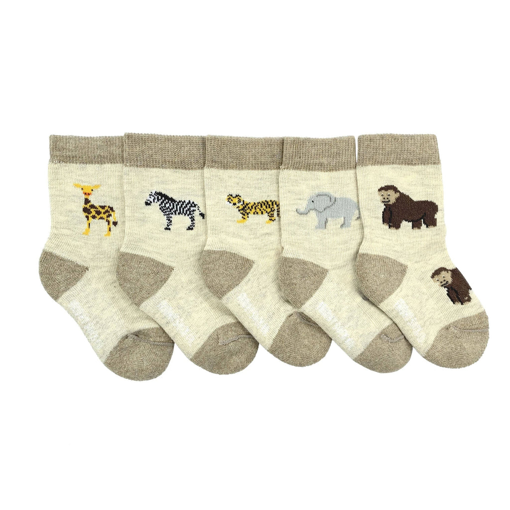 Friday Sock Co. - Baby Mismatched Socks - Zoo