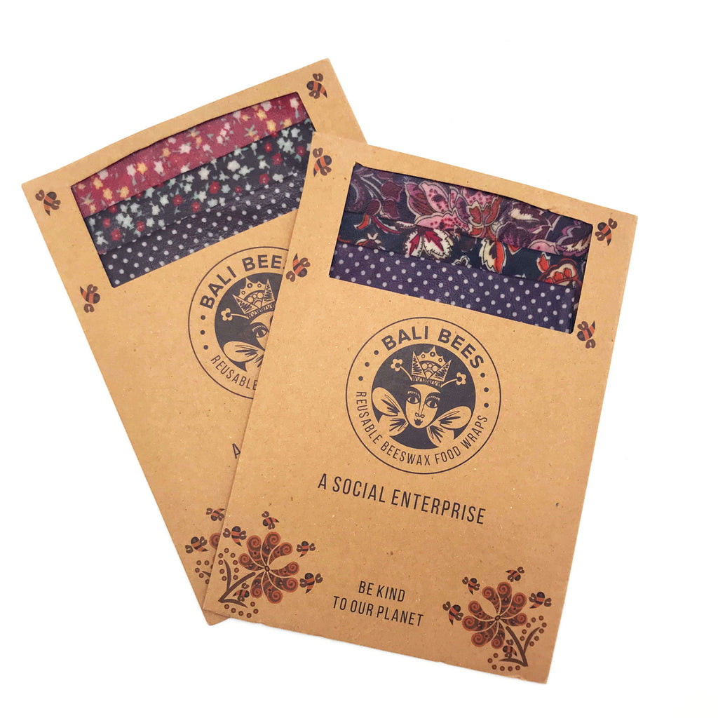 Bali Bees Beeswax Wraps at Twang and Pearl