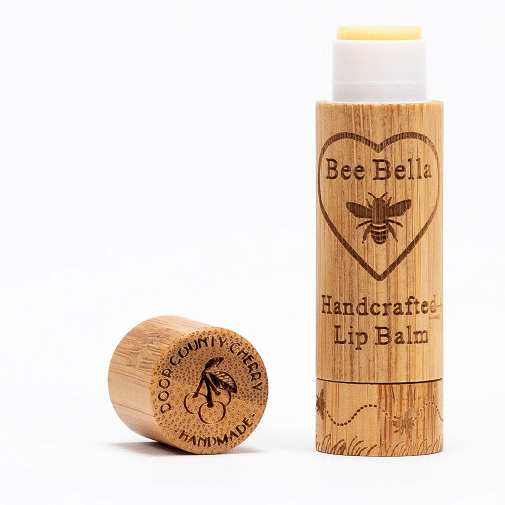bee bella lip balm cherry twang and pearl