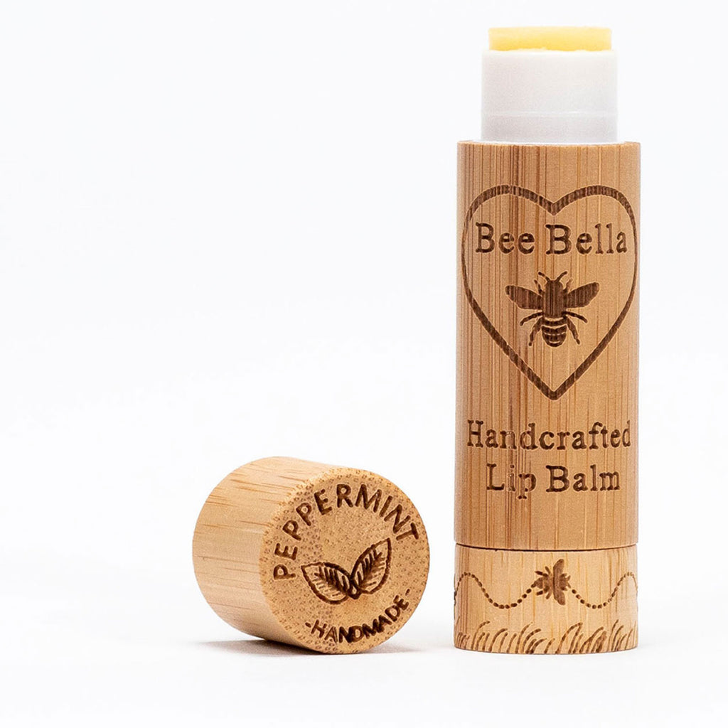 bee bella lip balm peppermint twang and pearl