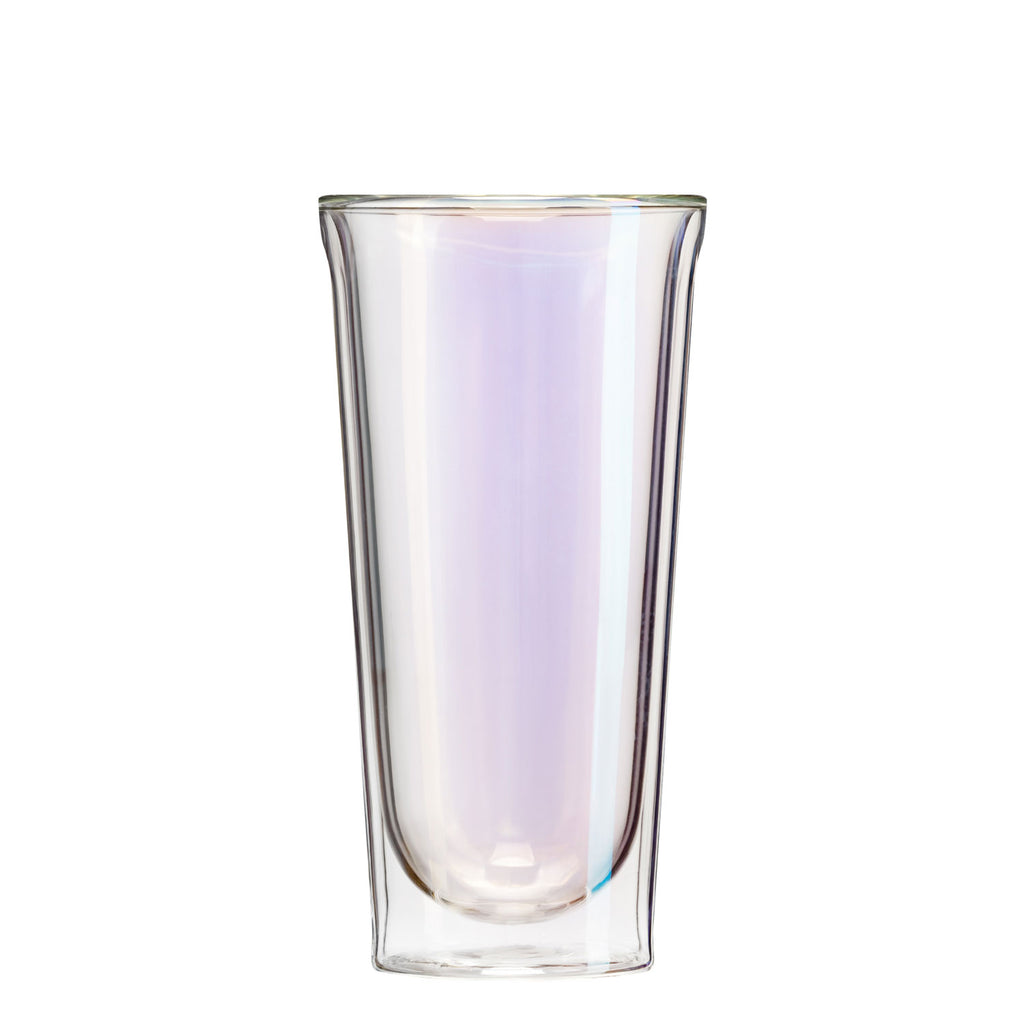 Beer Glasses - Corkcicle glass pint set in prism