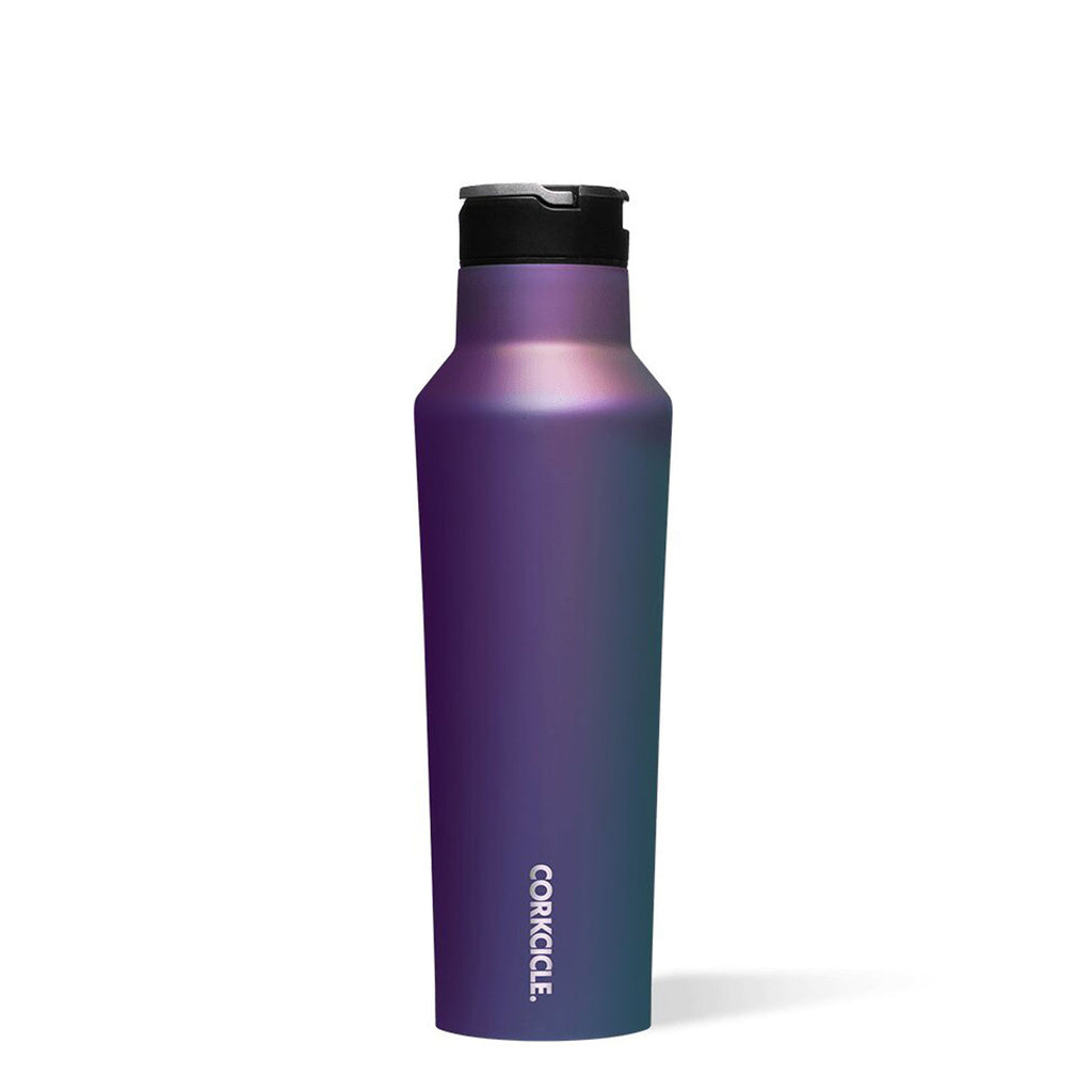 corkcicle insulated sport water bottle canteen - 20oz- dragonfly