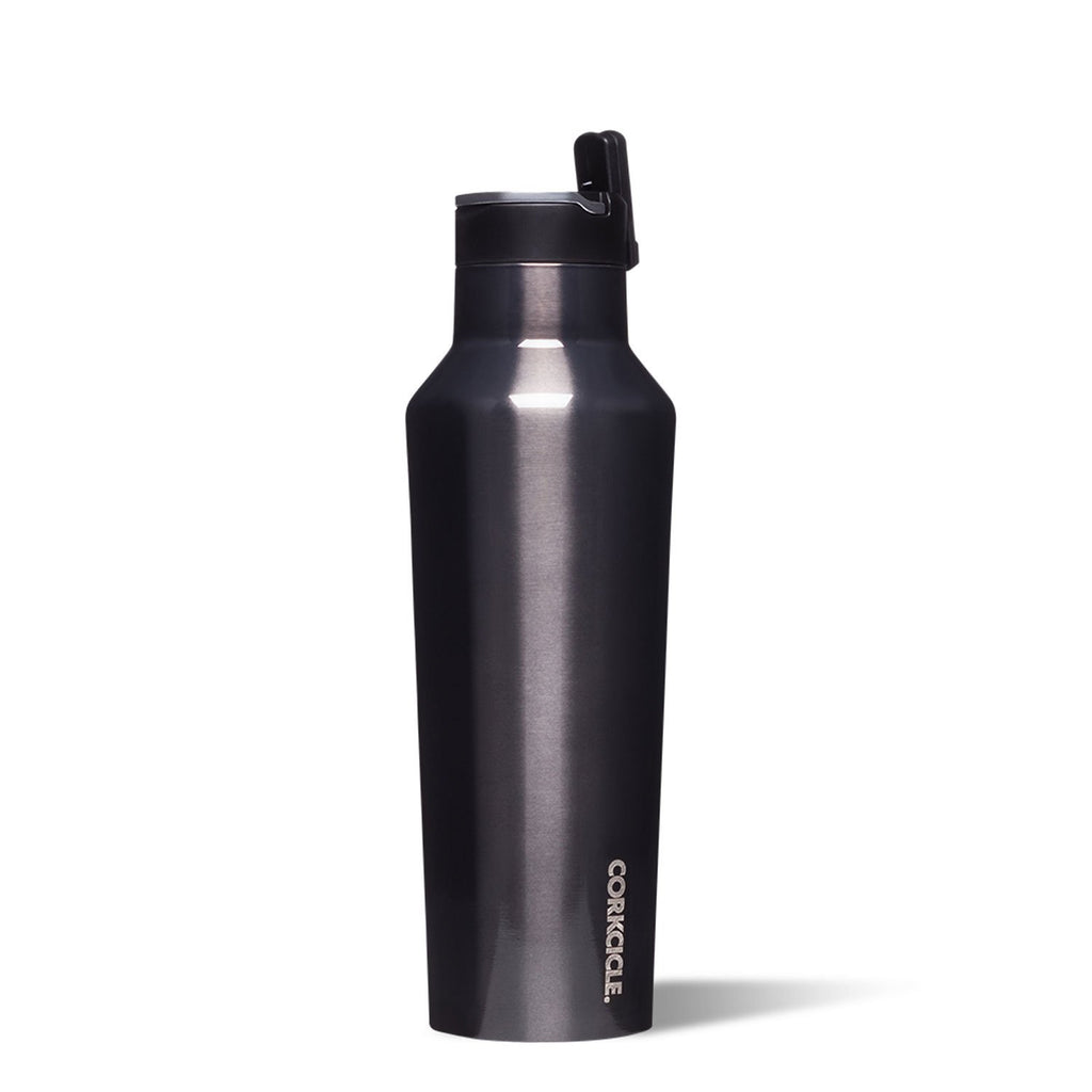 corkcicle canteen 20 oz gunmetal at twang and pearl