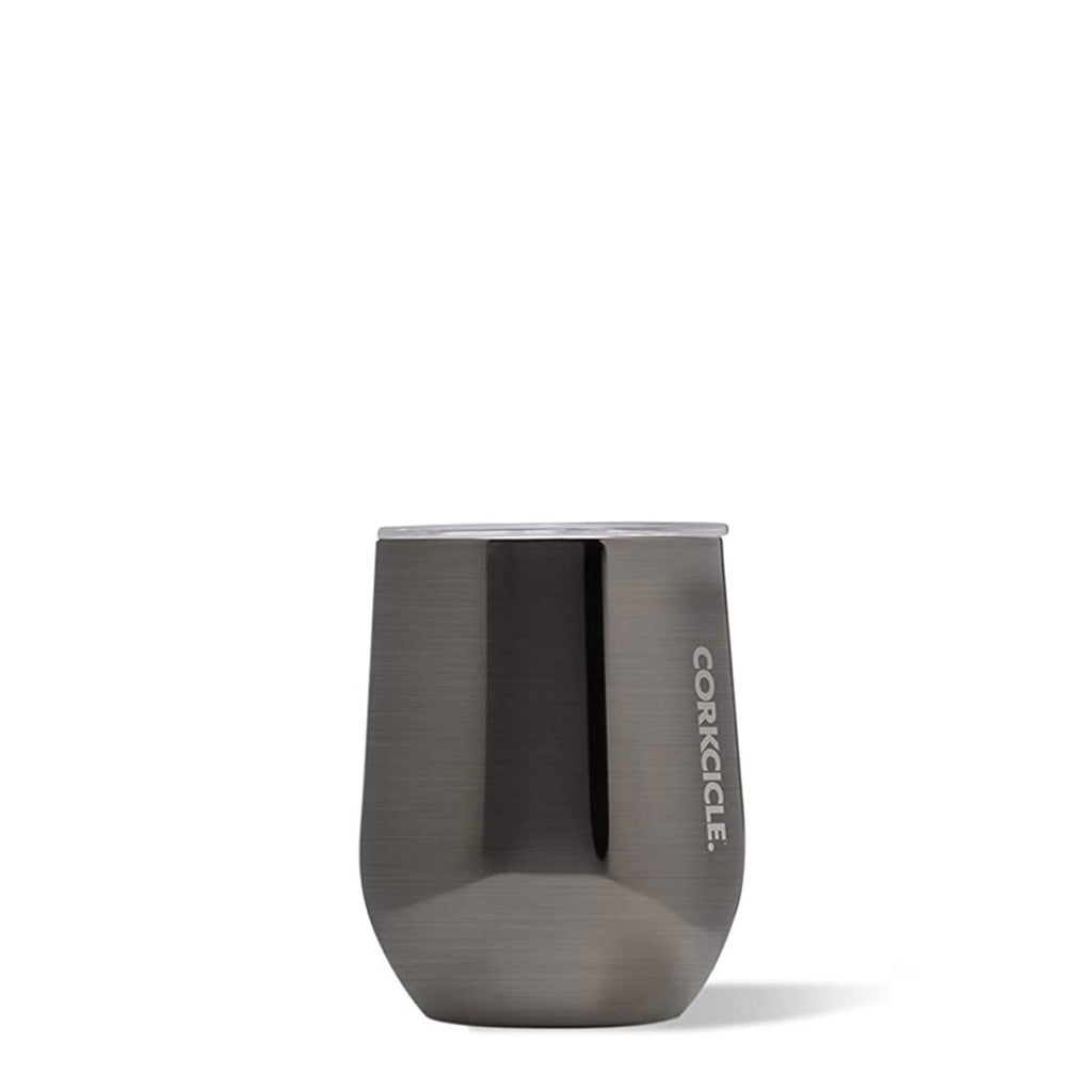 Corkcicle Stemless Tumbler 12 oz Gunmetal at Twang and Pearl