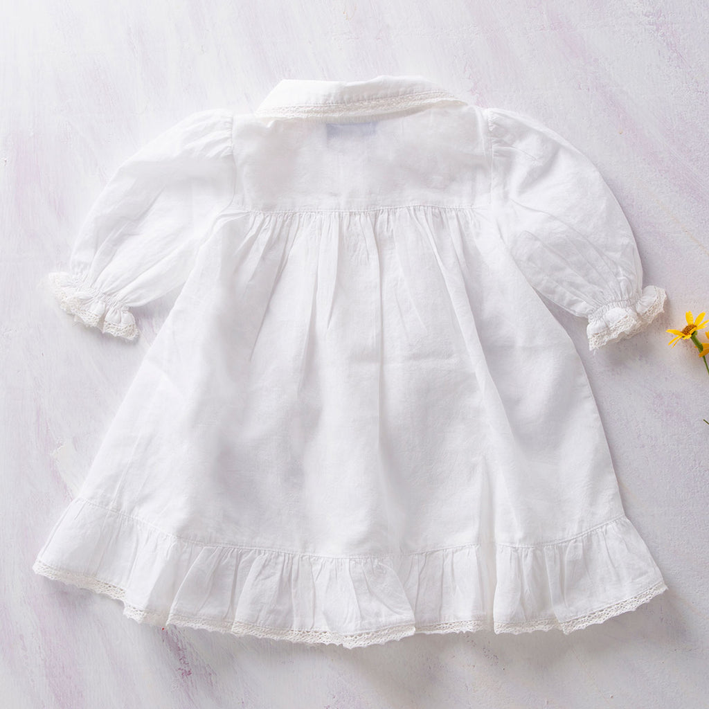 April Cornell Cotton Baby Petticoat | Josephine White
