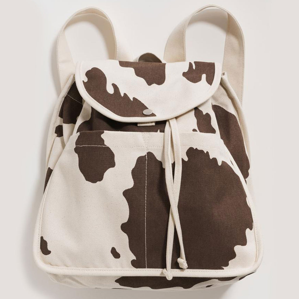 Baggu - Drawstring Backpack - Brown Cow