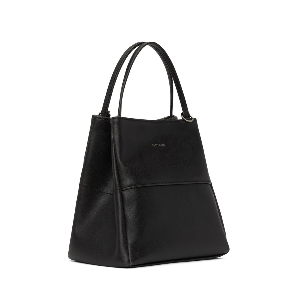 Matt and Nat Willa Tote Small Vintage Black at Twang and Pearl