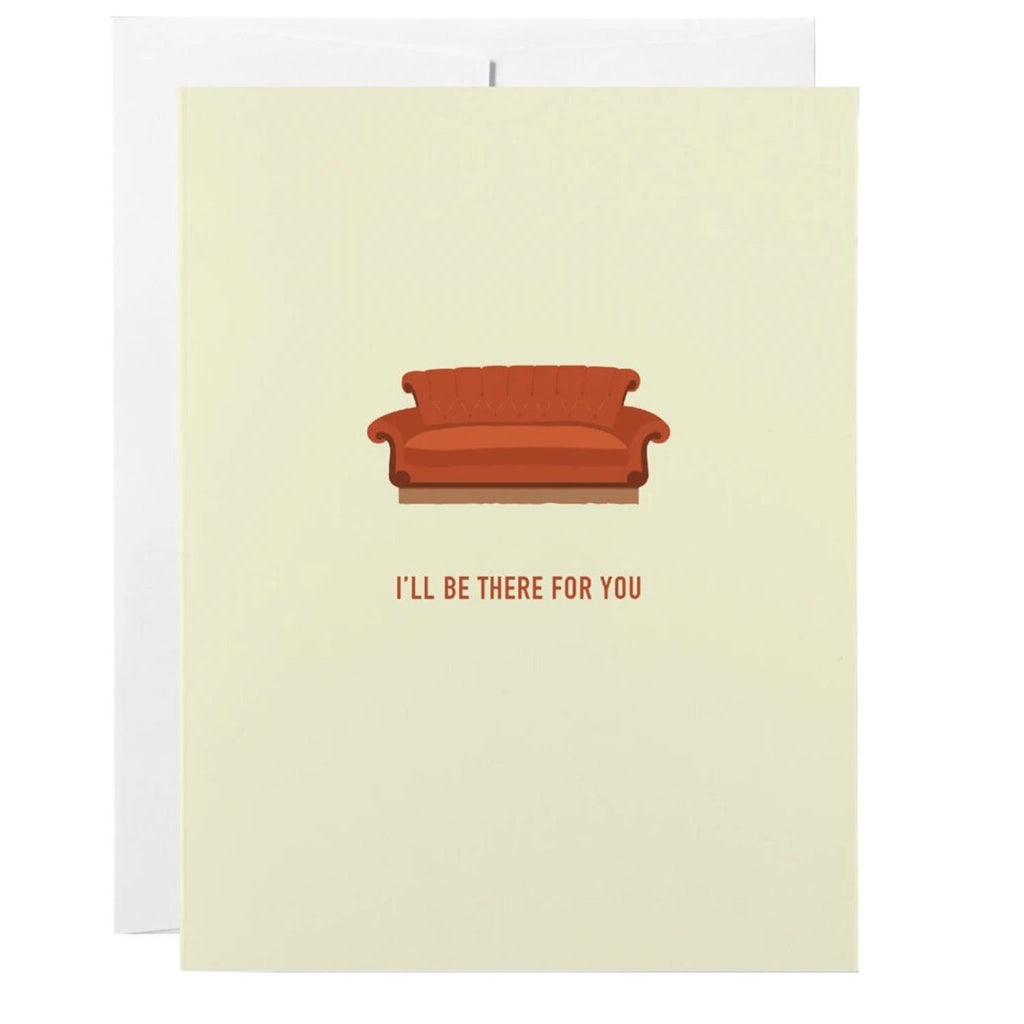 Classy Cards Friendship Card - Friends Couch