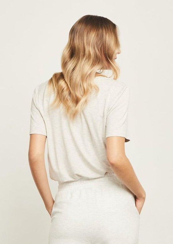 Gentle Fawn Lewis Tee Heather Taupe