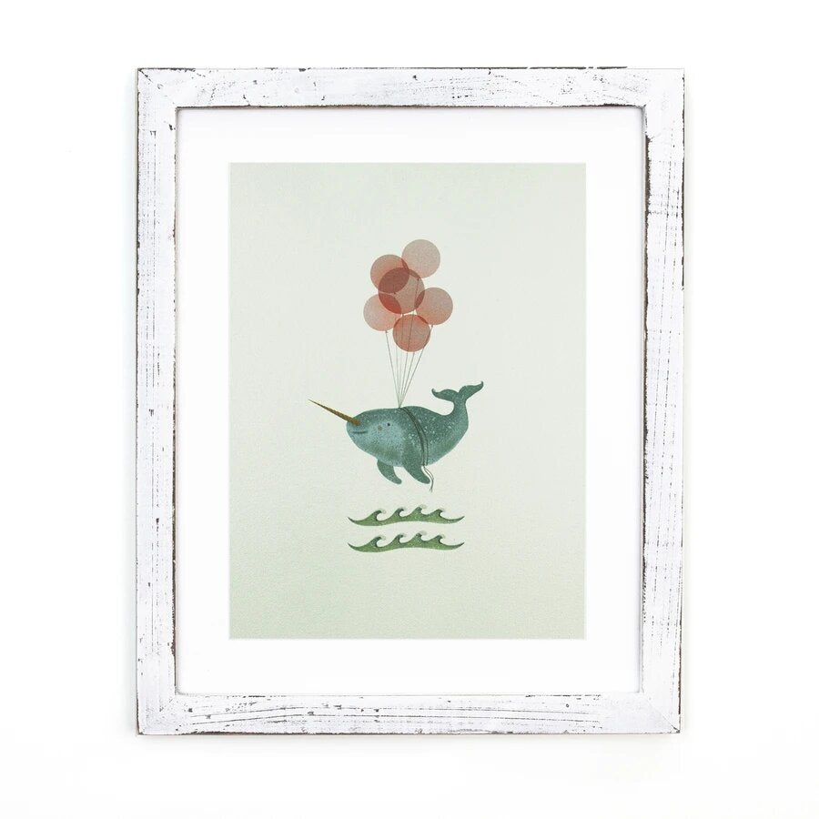 Framed Art - Handmade Home Decor, Hand Drawn Illustration