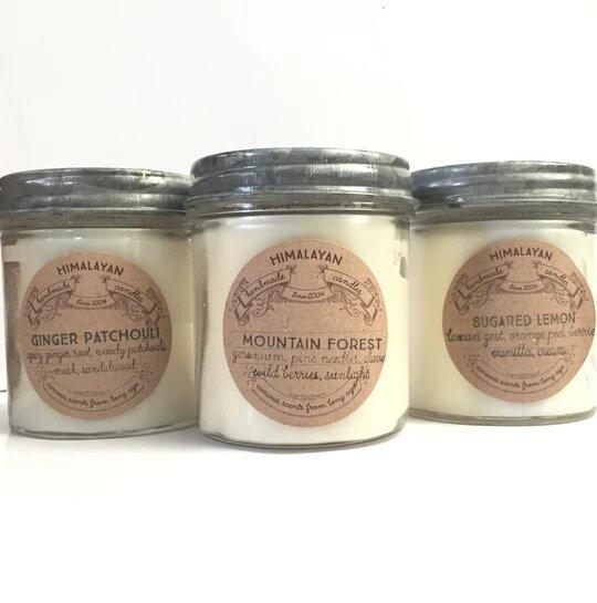 Himalayan Soy Candle Curiosity Jar  Twang and Pearl