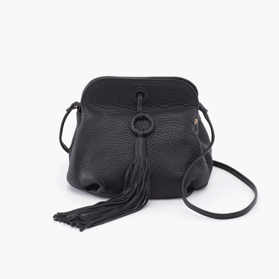 Hobo Birdy Bag in Black Velvet Hide at Twang and Pearl