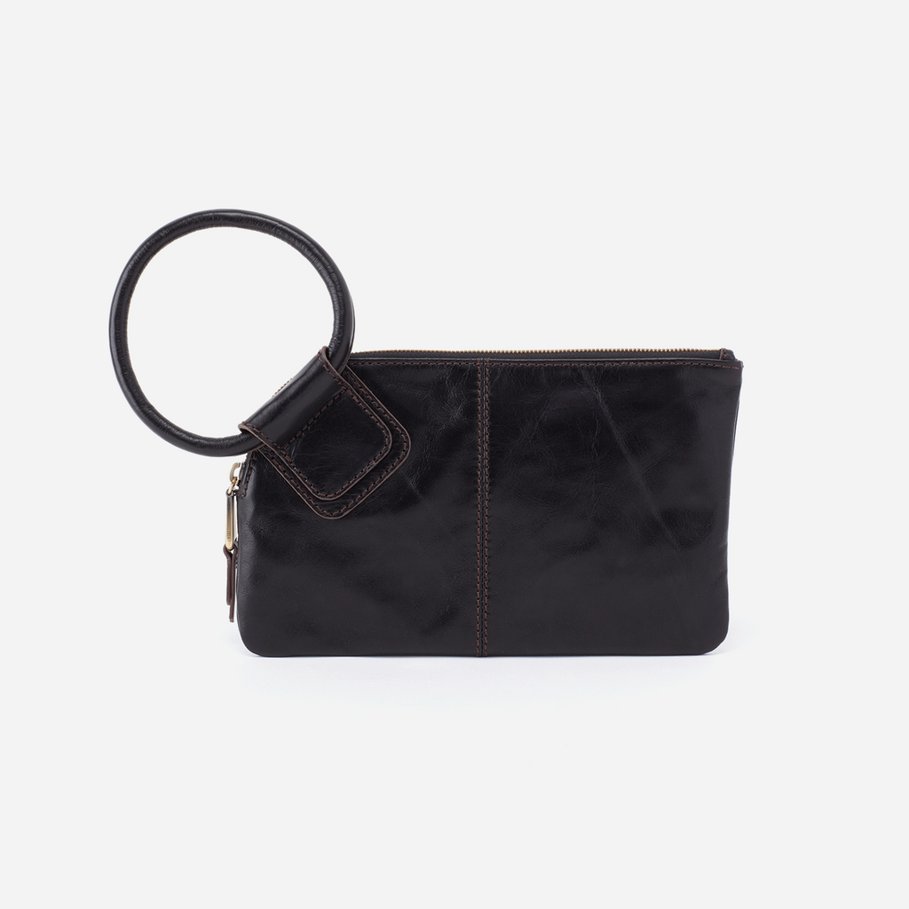 Hobo Bag Sable Black Vintage Hide at Twang and Pearl