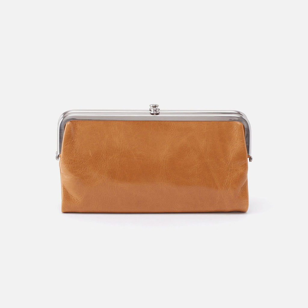 Hobo Bags Lauren Wallet Honey | Vintage Leather Clutch