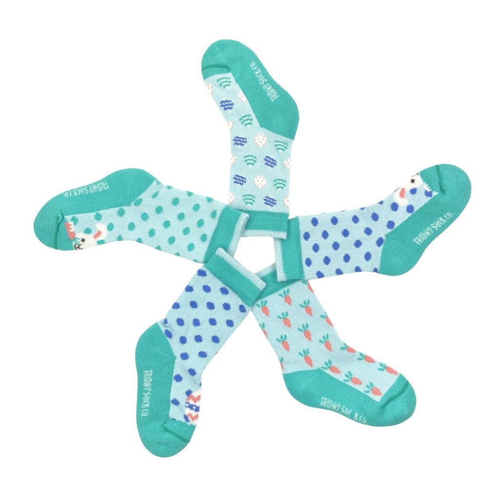 Friday Sock Co. - Baby Mismatched Socks - Easter