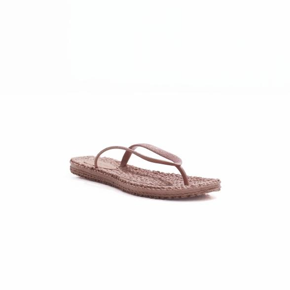 Ilse Jacobsen Sparkle Flip Flops in Rose at Twang and Pearl