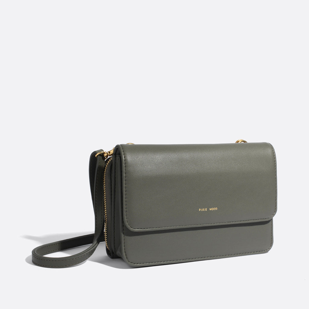 Pixie Mood - Jane 2-in-1 Wallet Purse - Moss