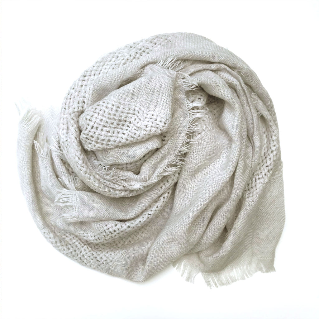 Jackson Rowe Olive Scarf Dove at Twang and Pearl