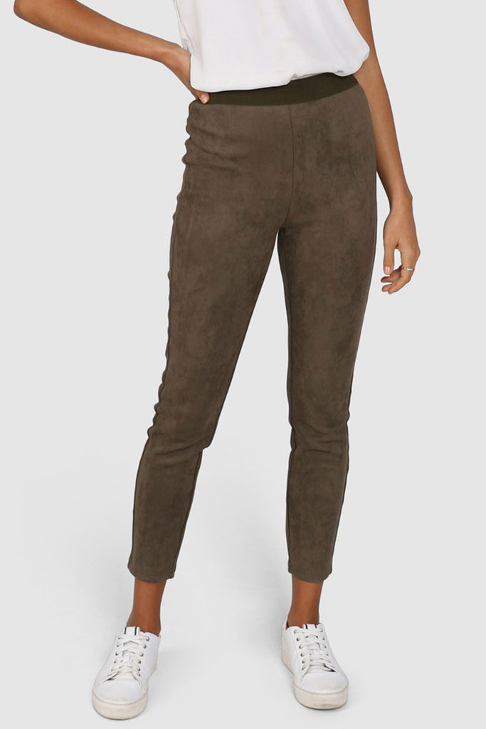 Lost in Lunar - Lana Legging - Khaki