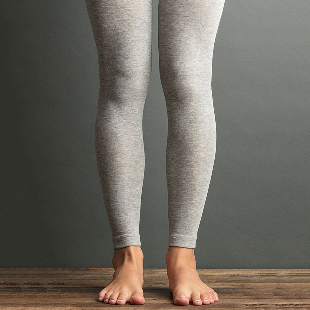 Lemon Body Butter Legging Heather Grey at Twang and Pearl