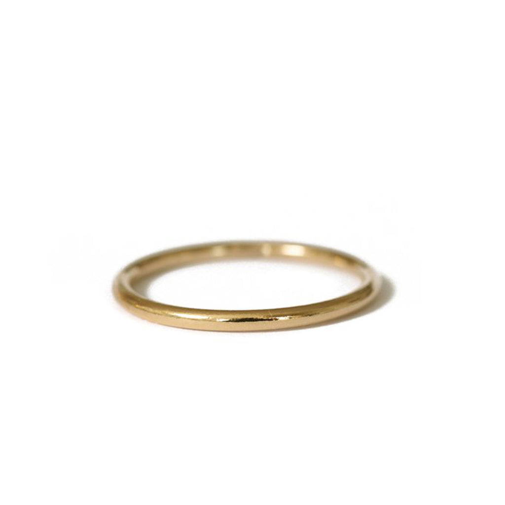 Lisbeth Jewelry Simone Band Ring Gold Fill