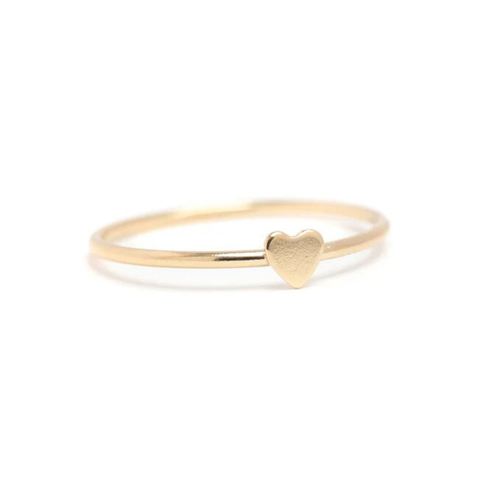 Lisbeth Jewelry Wilfred Heart Ring Gold Fill