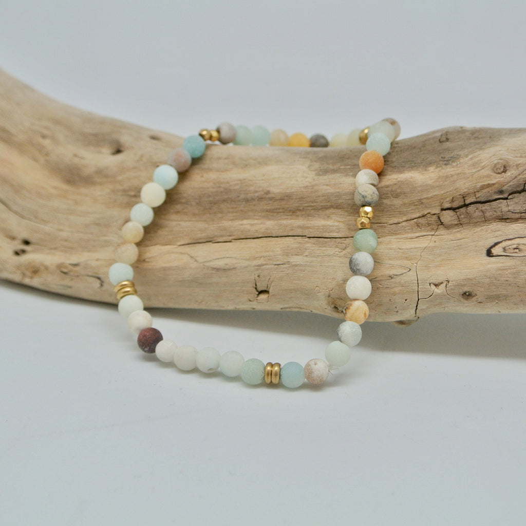 little gem bracelets beachy beach glass at twang and pearl