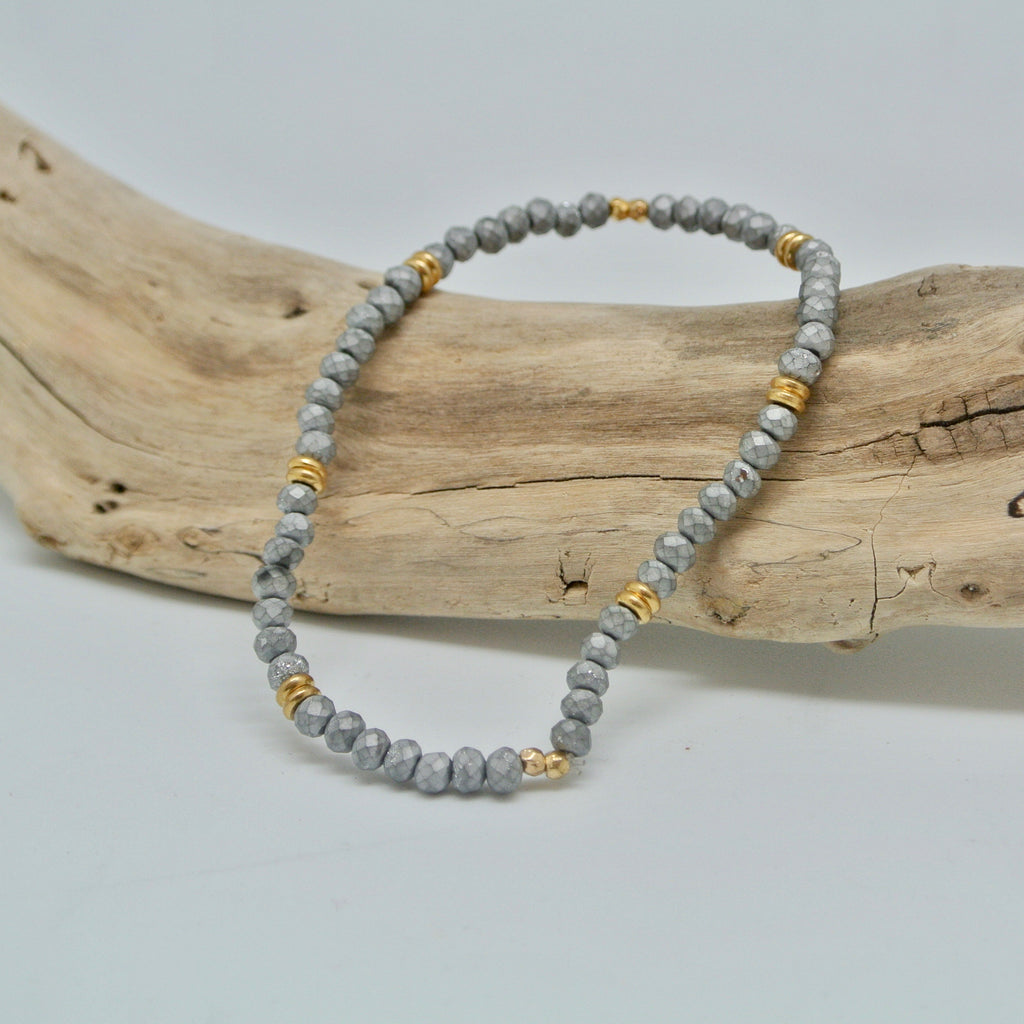 little gem bracelets dark and stormy silver and gold at twang and pearl