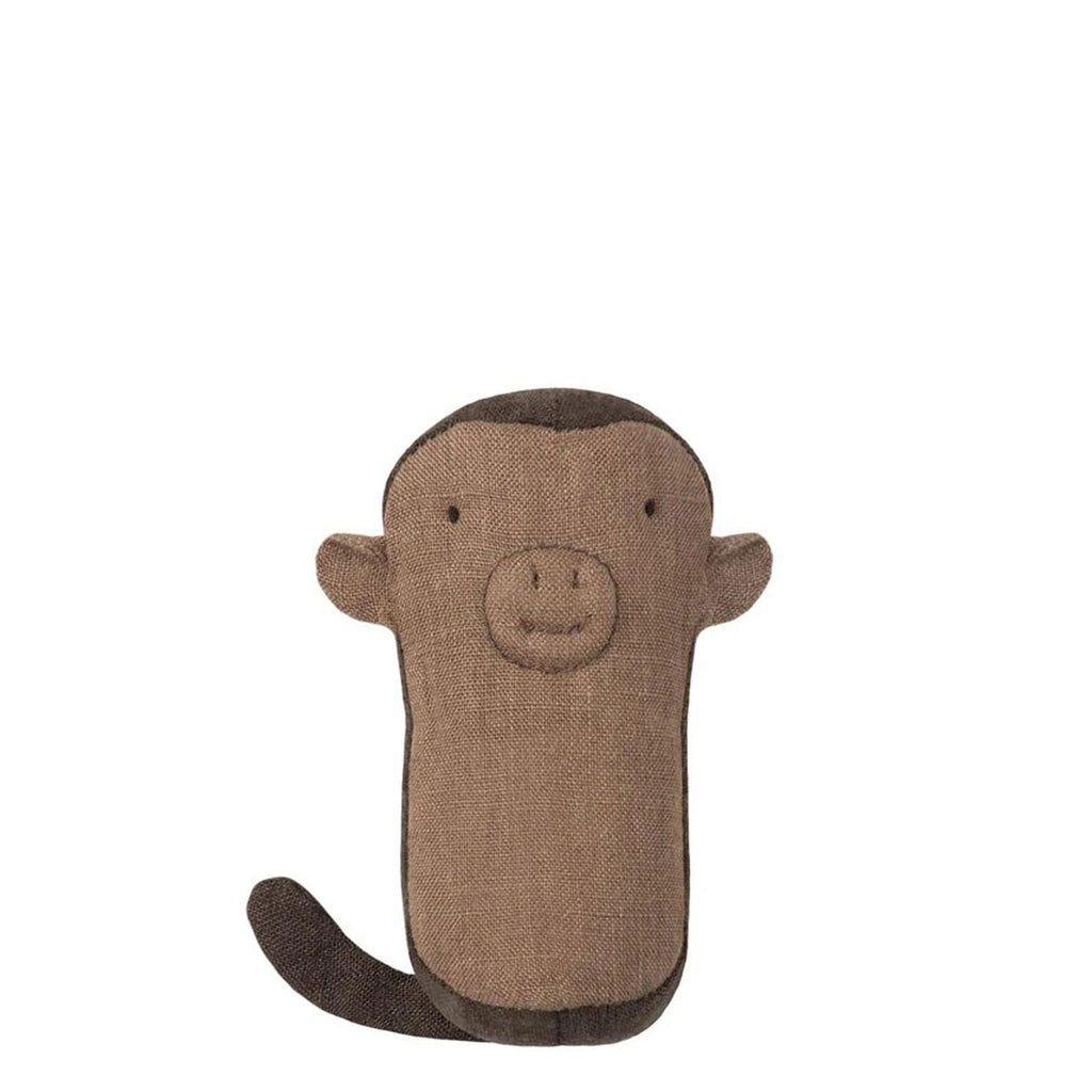 twang and pearl maileg monkey rattle