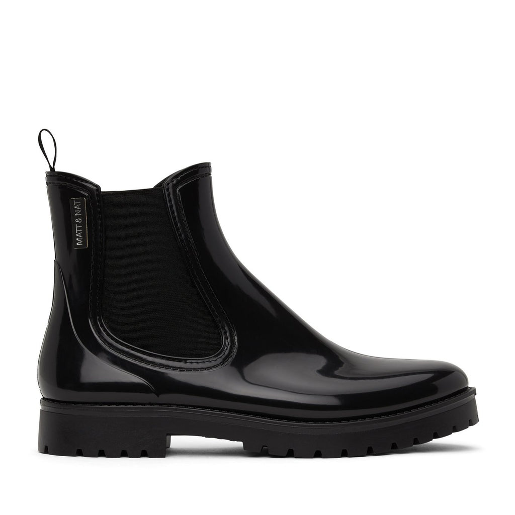 Matt and Nat Laney Waterproof Rain Boots Boots Black