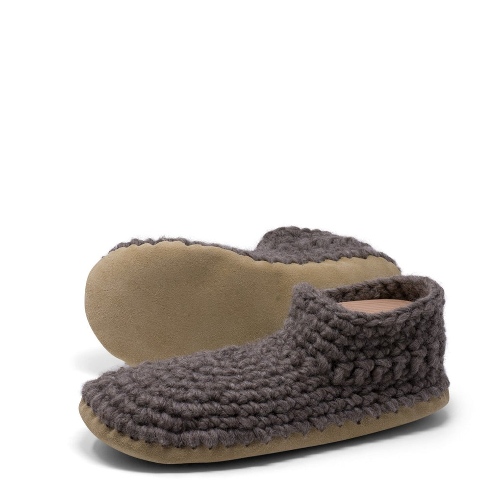 Padraig Slippers for Men Grey at Twang and Pearl